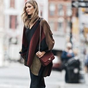 Express Sweater Poncho. Perfect for Fall 🍁